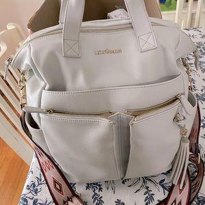Gently used Lily Jade Caroline diaper bag/backpack